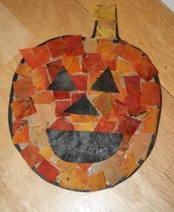 Jack-o-lantern Mosaic