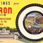 Greeting from Akron Postcards
