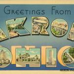 Akron Ohio Postcards