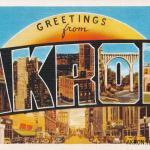 Akron Postcards