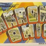Vintage Akron Postcards