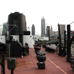View of Cleveland Skyline from Mather