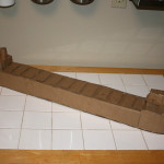 Handmade Cardboard William G. Mather toy